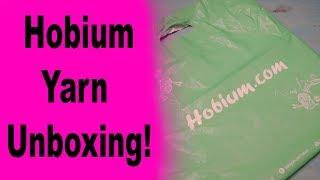 Hobium Yarn Unboxing!!!