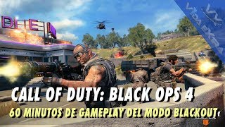 COD: Black Ops 4 - 60 minutos de gameplay del modo Blackout