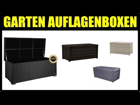 TOP 5 AUFLAGENBOX MODELLE ★ Garten Kissenbox ★ Auflagenbox woody, Polyrattan Auflagenbox Modelle