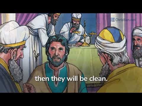 Leviticus 9: The Priests Begin Their Ministry | Bible Stories