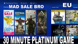 2 NEW PS4 FREE TO PLAY GAMES F2P - 30 Minute Platinum Game for Under £3