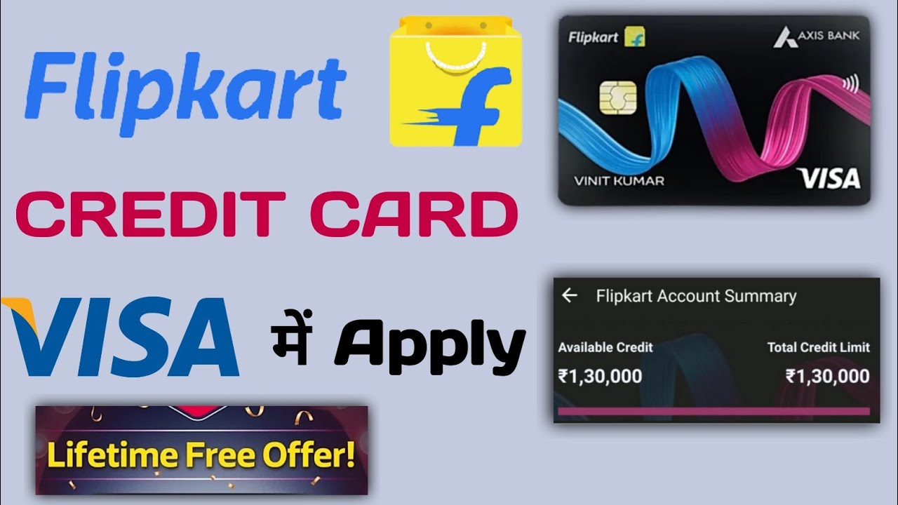 Flipkart Axis Bank Visa Charge Card Apply|Old Flipkart Charge Card Possible To Life Time Free?