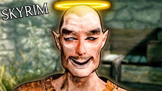 Playing Skyrim as a pacifist is way funnier than it should be