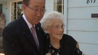 Ban Ki Moon Visits His