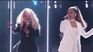 Ariana Grande & Christina Aguilera   Into YouDangerous Woman (Live On The Voice Final 2016) HD