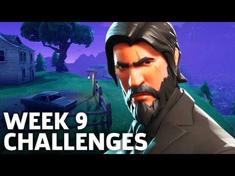 Fortnite Battle Royale Season 3 Week 9 Challenges Walkthrough