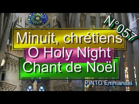 Minuit, chrétiens(Chant de Noel)(chant Catholique-Karaoké N°57