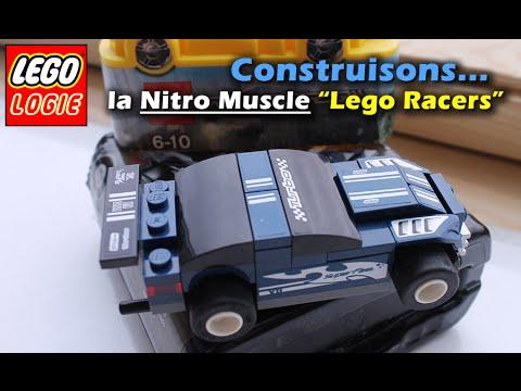 Vidéo LEGO Racers 8194 : Le Stock-car