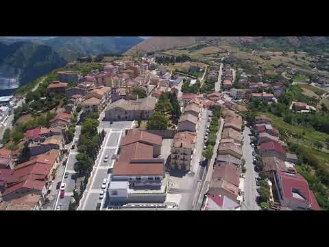 Preview video Investitura Templari Panoramica Caggiano 2020