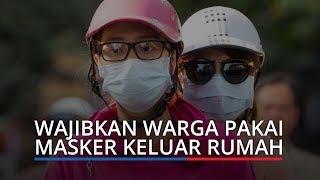 Wali Kota Padang Wajibkan Warga Gunakan Masker Keluar Rumah, Melanggar Dikenakan Denda