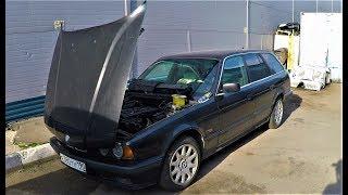 BMW E34 M50 VANOS, РЕМОНТ МОТОРА !