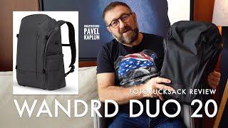 Fotorucksack Review: Wandrd DUO Daypack