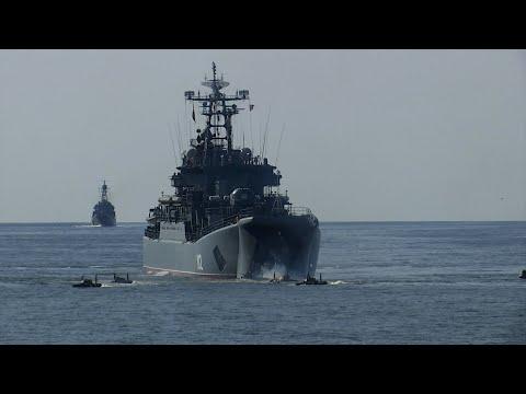 Моряки Балтийского и Северного флотов провели штурм побережья в рамках «Запада-2021»
