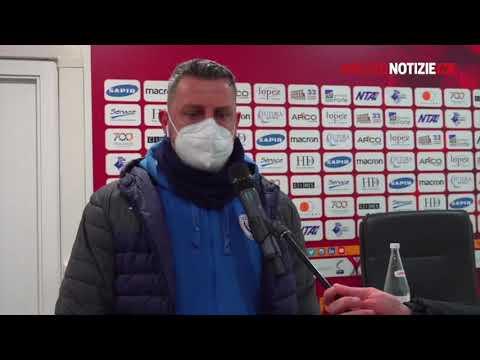 Ravenna-Arezzo 1-1, intervista a mister Camplone