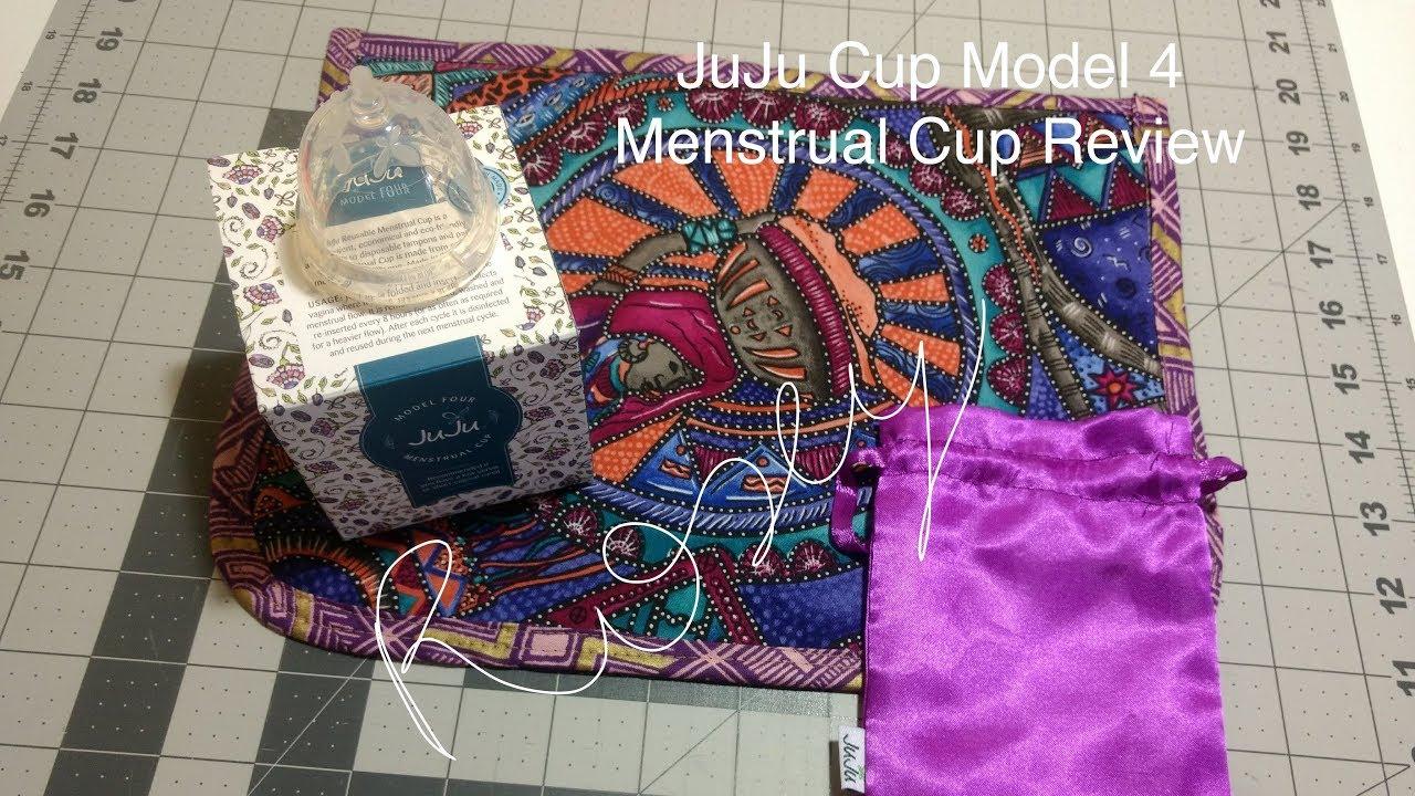 JuJu Cup Model 4 - Menstrual Cup Review