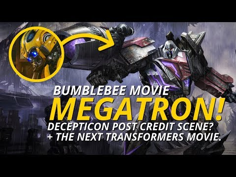 Transformers: A Megatron Post Credit Scene For Bumblebee The Movie? 😮