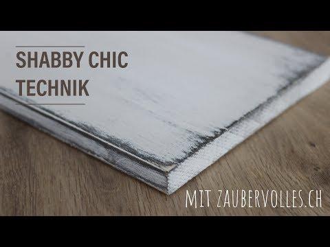 basics I: shabby chic technik ★ DIY ★ kreidefarbe  ★ zaubervolles.ch
