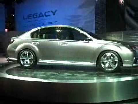 Subaru Legacy - Detroit motor show 2009 - by Autocar.co.uk
