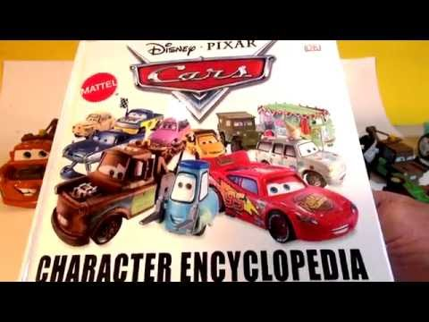 PIXAR CARS TOW MATER COLLECTION FROM THE CHARACTER ENCYCLOPEDIA PART 2