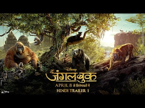 Jungle Book Hindi Movie Trailer