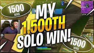 TSM Myth - I GOT MY 1500th SOLO WIN!!! | (Fortnite BR Full Match)
