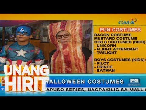 [GMA]  Unang Hirit: Nakakata-cute na Halloween costumes, ibinida sa 'Unang Hirit'