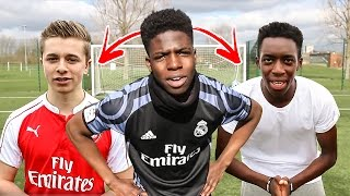 BEST FIFA YOUTUBER AT IRL FOOTBALL CHALLENGES!! 🔥