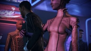 Mass Effect 3 Citadel DLC Casino Party Fiesta (w Different Squad Members) HD Español