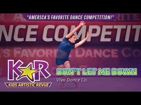 """""""Don't Let Me Down"""" from Viva Dance Co."""