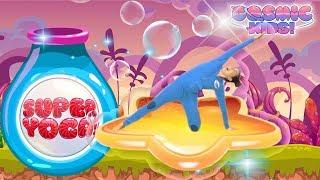 Cosmic Kids Yoga | SUPER YOGA! - Dinosaur Disco | Fun Workout For Kids