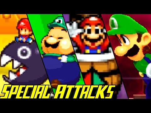 Evolution of Special Attacks in Mario & Luigi Games (2003-2017)