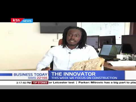 The Innovator: Young innovator uses Mushrooms to make roofing materials