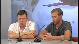 Сергей Лавыгин и Михаил Тарабукин. Интервью на ЕТВ