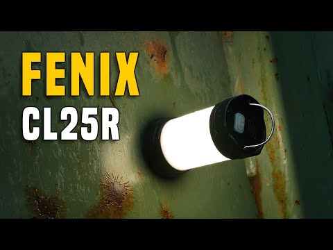 Fenix CL25R Camping Leuchte/Lantern - Testbericht Gear Review