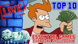 Top 10 Essential Games for Gamers