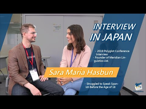 Interview with Sara Maria Hasbun: Struggled to Speak Spanish Before 18 | 2019 Polyglot Conference