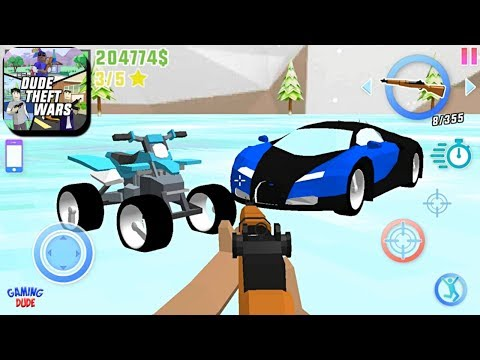 Dude Theft Wars: Open World Sandbox Simulator BETA - New Quad Bike Episode   Android Gameplay HD