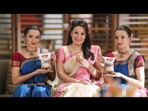 Tanjara Filter Coffee Advert features dancers Poonam & Priyanka