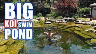 COOLEST RECREATION POND With KOI: Greg Wittstock, The Pond Guy