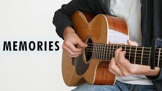 Maroon 5   Memories (Fingerstyle Guitar Cover)