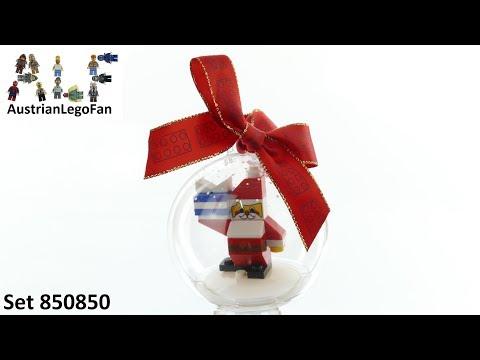 Vidéo LEGO Saisonnier 850850 : Boule de Noël Père Noël LEGO