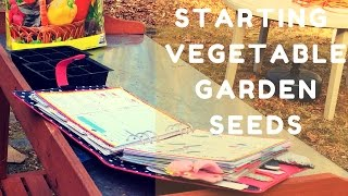 Starting Seeds for Zone 6a Vegetable Garden