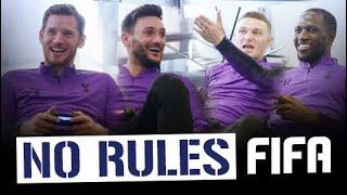 NO RULES FIFA 19! |  HUGO LLORIS & JAN VERTONGHEN V MOUSSA SISSOKO & KIERAN TRIPPIER
