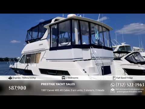 Carver 405 Aft Cabin Motor Yacht video