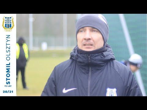 Adam Majewski po meczu Legia Warszawa - Stomil Olsztyn 3:1