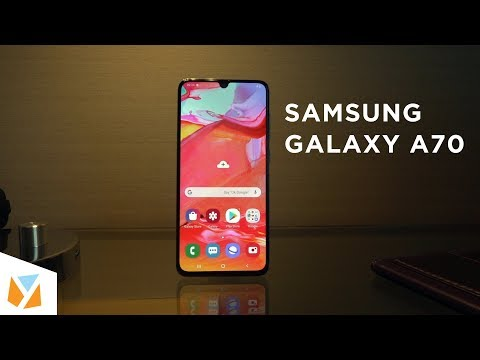 Samsung Galaxy A70 Hands-on, First Impressions