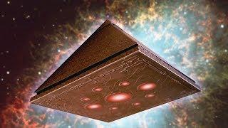 Шок! НЛО пирамида - реальная съемка из Пекина 2017 HD (UFO)