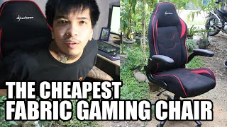 Unboxing Sharkoon Elbrus 1 The Cheapest Fabric Material Gaming Chair  ( TAGALOG )