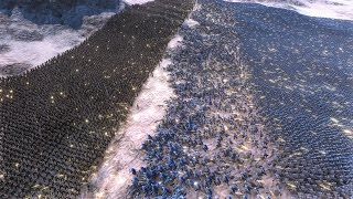 10.000 WW2 US SOLDIERS vs 60.000 HEAVY KNIGHTS - Ultimate Epic Battle Simulator