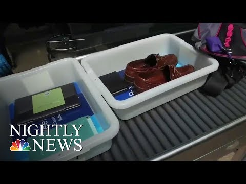 TSA: Screen All Electronics Bigger Than A Cell Phone | NBC Nightly News